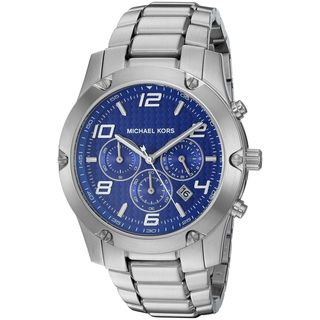 Michael Kors Men's MK8487 'Caine' Chronograph Stainless Steel Watch