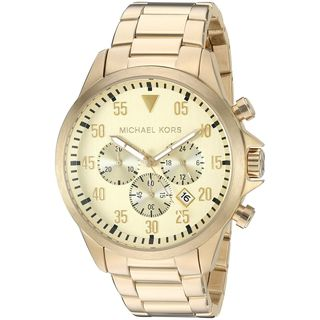 Michael Kors Men's MK8491 'Gage' Chronograph Gold-Tone Stainless Steel Watch
