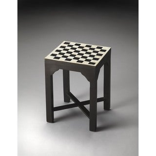 Butler Bishop Bone Inlay Bunching Chess Table