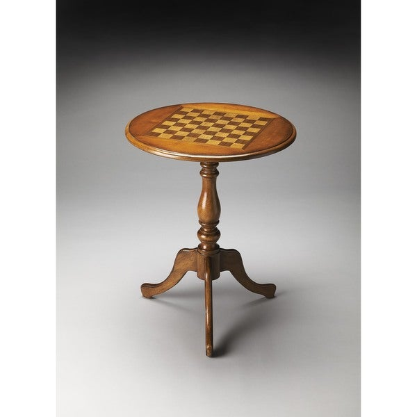 Butler Olive Ash Game Accent Table