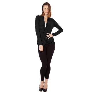 Women's Cris Cross Drape Front Pullover Top https://ak1.ostkcdn.com/images/products/12073030/P18940224.jpg?impolicy=medium