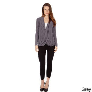 Women's Cris Cross Drape Front Pullover Top (More options available)
