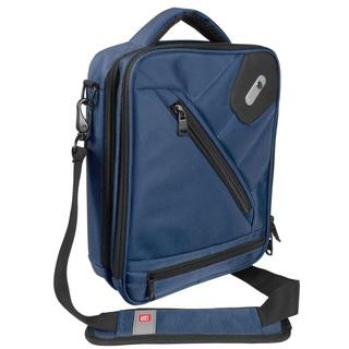 FUL SideCar Navy Blue Nylon Tablet Messenger Bag