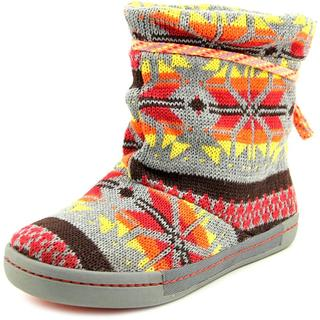 Tigerbear Republik Women's Pony Up Grey/Multicolor Textile Boots