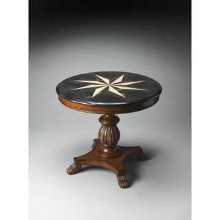 Handmade Butler Fossil Stone Accent Hall Table (Philippines)