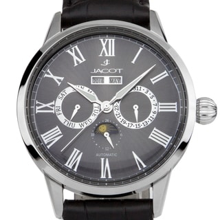 Jacot Bolivar Men's Automatic Master Calendar Watch