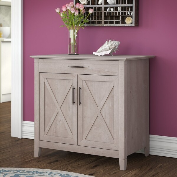 The Gray Barn Byrnes Laptop Storage Desk Credenza