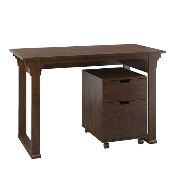 Bush Furniture Mission Creek Collection Antique Cherry 48
