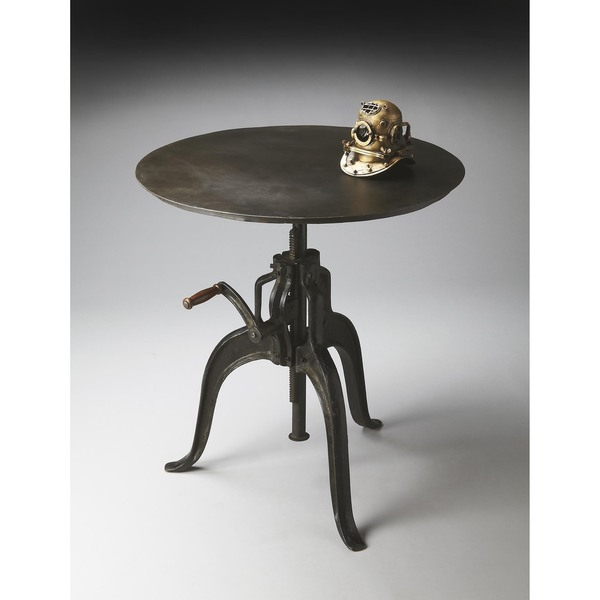 Handmade Butler Metalworks 2858025 Black Iron Hall Table (India)