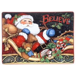 Certified International 'The Night Before Christmas' Rectangular Platter
