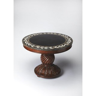 Handmade Butler Fossil Stone Foyer Table (Philippines)