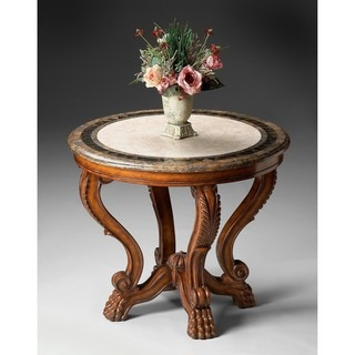 Butler Fossil Stone Foyer Table