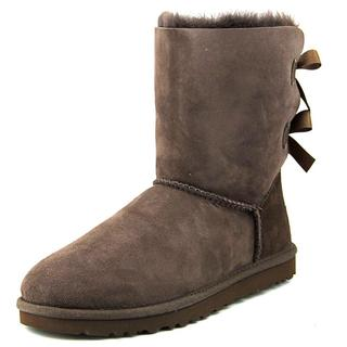 Ugg Australia Women's Bailey Bow Brown Regular Suede Boots