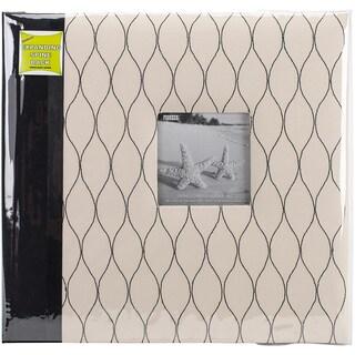 "Pioneer Two Tone Fabric Post Bound Album 12""X12"""