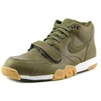 Nike Men's Air Trainer 1 Mid Green Leather Athletic Shoe