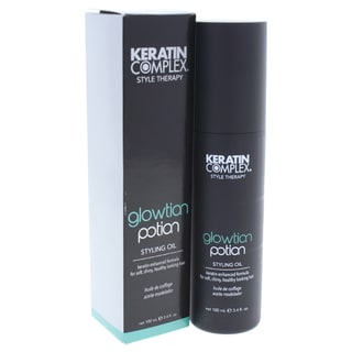 Keratin Complex Style Therapy Glowtion Potion 3.4-ounce Styling Oil