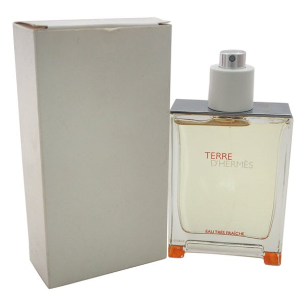 73f5c091a7 Shop Terre D'Hermes Eau Tres Fraiche 2.5-ounce Eau de Toilette Spray  (Tester) - Free Shipping Today - Overstock - 12073830
