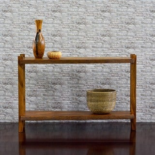 Cayu Live Edge Console Table