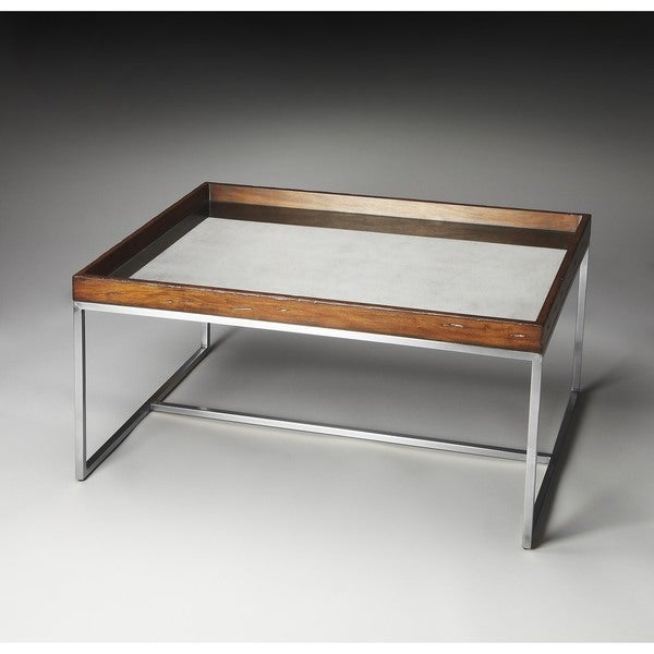 Mirrored Coffee Table Sale: Shop Butler Eastwood Mirrored Cocktail Table