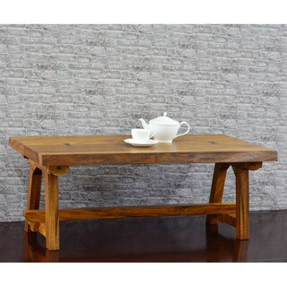 222 Fifth Ori Natural Acacia Live Edge Coffee Table