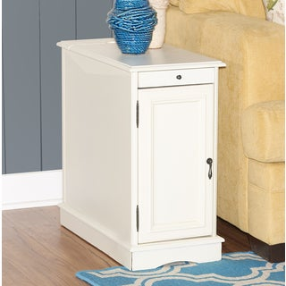 Powell Butler White Accent Table