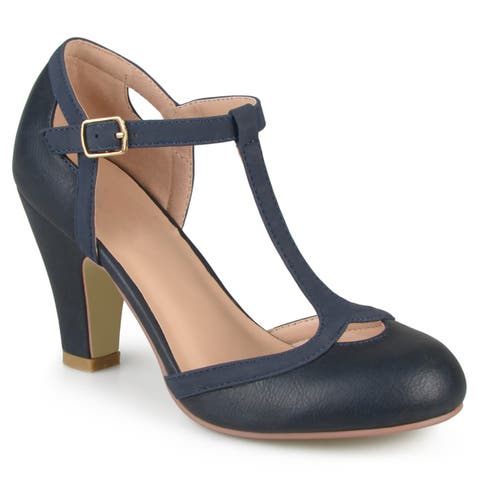 0daf5872f9d Journee Collection Women s  Olina  T-strap Round Toe ...