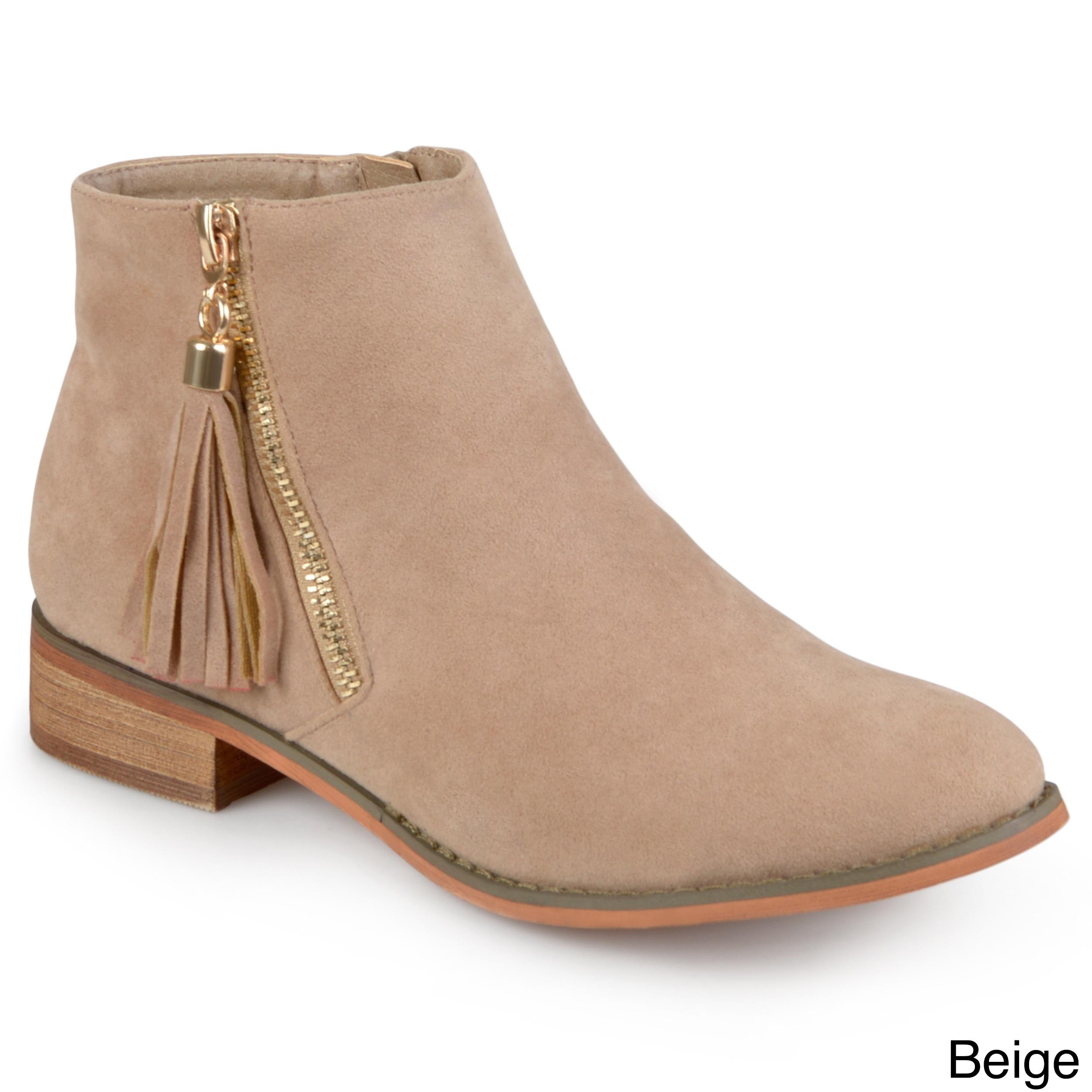 b83f7ec2ec36 Women s Stella Keel BootieWomen s Stella Keel Bootie Womens Faux Suede Side  Zip Ankle Boots