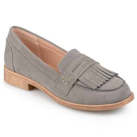dea49e5ac74a7 Buy Grey Women's Loafers Online at Overstock   Our Best Women's ...