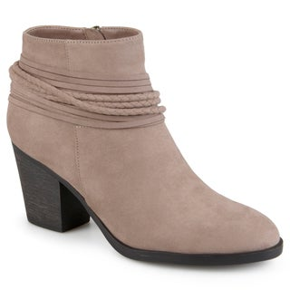 Journee Collection Women's 'Ceres' Strappy High Heeled Booties