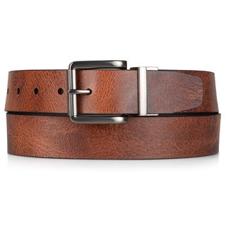 Timberland Men's Genuine Leather Reversible Belt