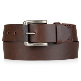 Levi's Mens Bonded Leather 40 mm Cut Edge Belt