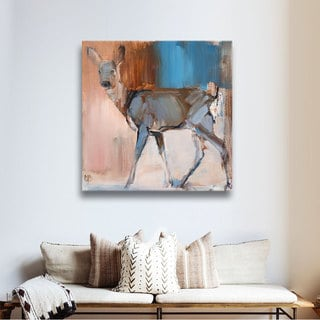 Mark Adlington's 'Doe a Deer' Gallery Wrapped Canvas