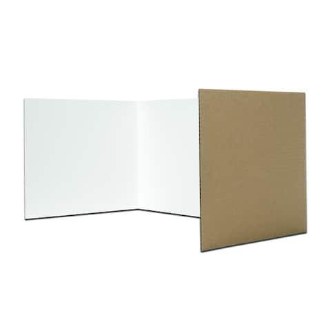 Corrugated Privacy Shield (Case of 24)