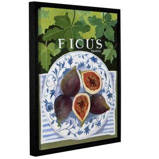 Jennifer Abbott's 'Fieus' Gallery Wrapped Floater-framed Canvas