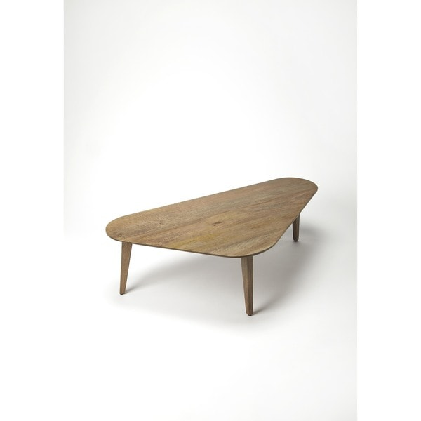 Handmade Butler Tripoli Solid Wood Coffee Table (India). Opens flyout.
