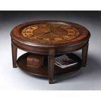 Butler Heritage Clock Cocktail Table
