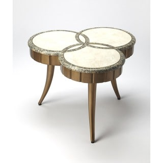Butler Borromeo Fossil Stone Cocktail Table