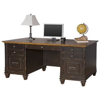 Hatherford Double Pedestal Desk
