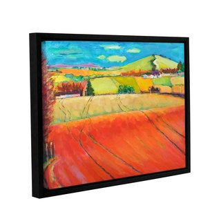 Marco Cazzulini's 'Roundhill' Gallery Wrapped Floater-framed Canvas