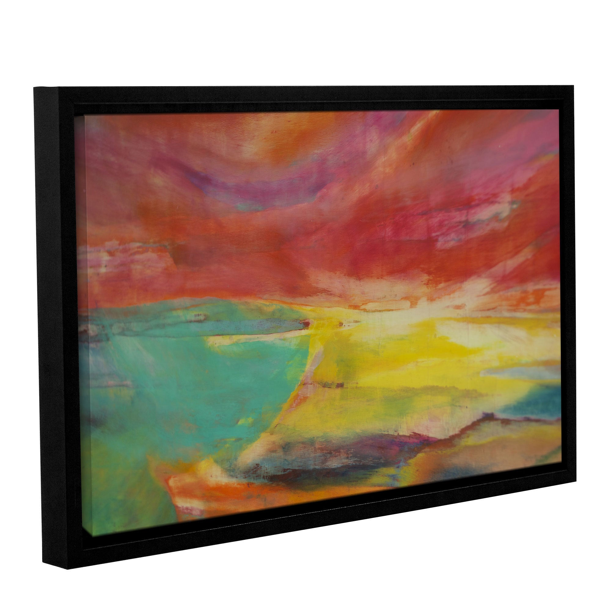 ArtWall Lou Gibbs's 'Between Land and Sea' Gallery Wrappe...