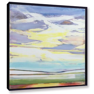 Lou Gibbs's 'Landscape' Gallery Wrapped Canvas