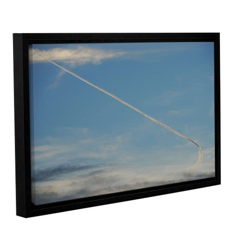 Lou Gibbs's 'Stairway to Heaven' Gallery Wrapped Floater-framed Canvas