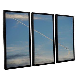 Lou Gibbs's 'Stairway To Heaven' 3 Piece Floater Framed Canvas Set