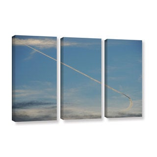 Lou Gibbs's 'Stairway To Heaven' 3 Piece Gallery Wrapped Canvas Set