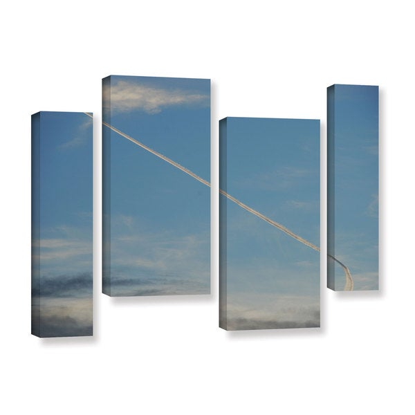 Lou Gibbs's 'Stairway To Heaven' 4 Piece Gallery Wrapped Canvas Staggered Set