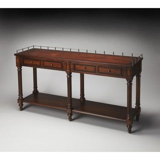 Butler Charleston 770024 Plantation Cherry Wood 60-inch x 16-inch x 32-inch Sofa/Console Table