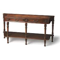 Butler Merrion Olive Ash Burl Console Table