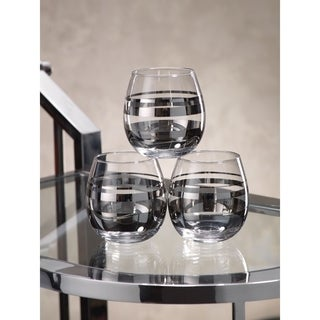 Platinum Stemless Wine Glass