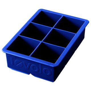 Tovolo King Stratus Blue Plastic Ice Cube Tray