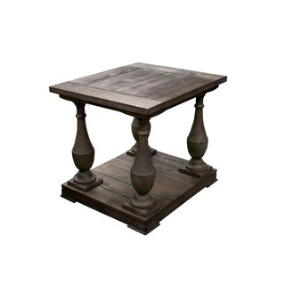 Best Master Furniture Rustic End Table
